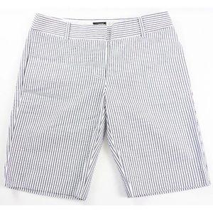 "J Crew city fit 10"" women's Bermuda shorts"